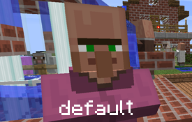 default villager texture