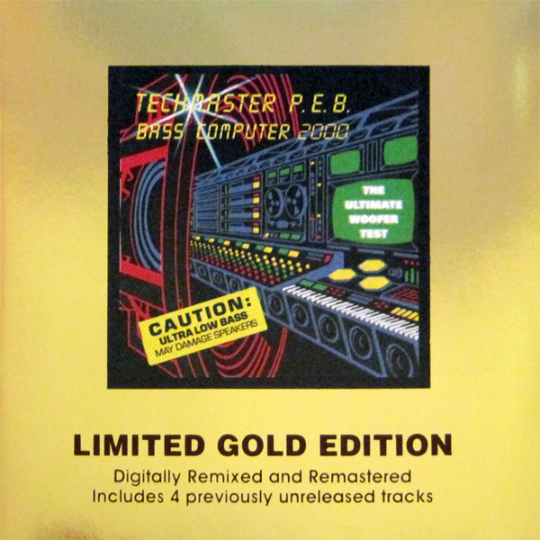 Techmaster PEB - Bass Computer 2000 Limited Gold Edition
